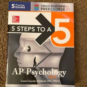 5 steps to a 5 ap psychology practice book!